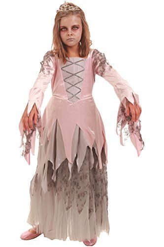 Childrens Zombie Princess Costume- Size Large (9-10) @ niftywarehouse.com #NiftyWarehouse #Zombie #Horror #Zombies #Halloween