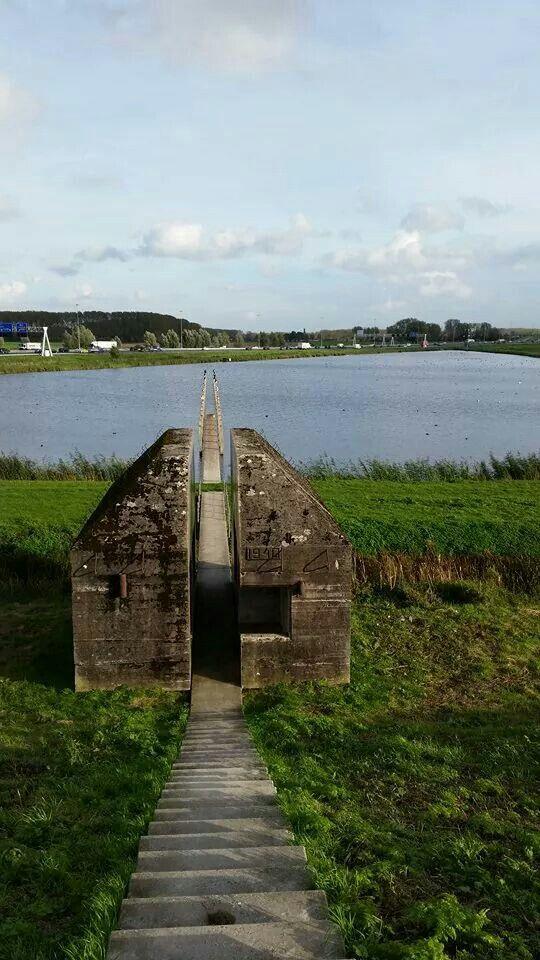 Sander Booms: Bunker aan de Diefdijk (Culemborg)