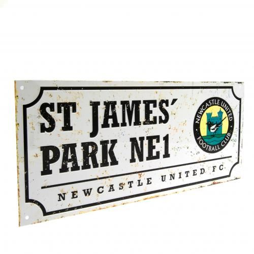 Newcastle United Retro St James Park Street Sign