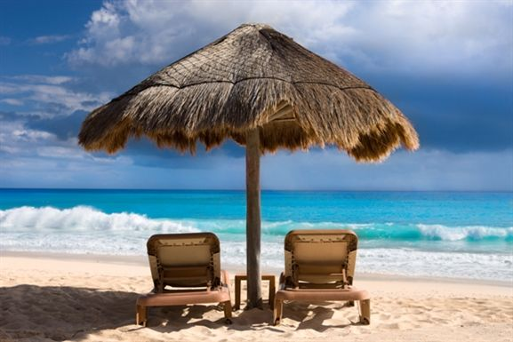 Give me a palapa and a lounge chair on a Mexican beach, and I am DONE.