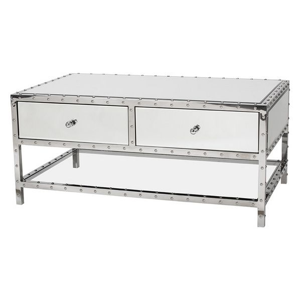 Rivet Coffee Table   Coffee And Side And Console Tables   Living Room   Furniture   Products   Urban Barn