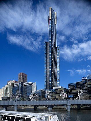 Eureka Tower, Melbourne, Australia,