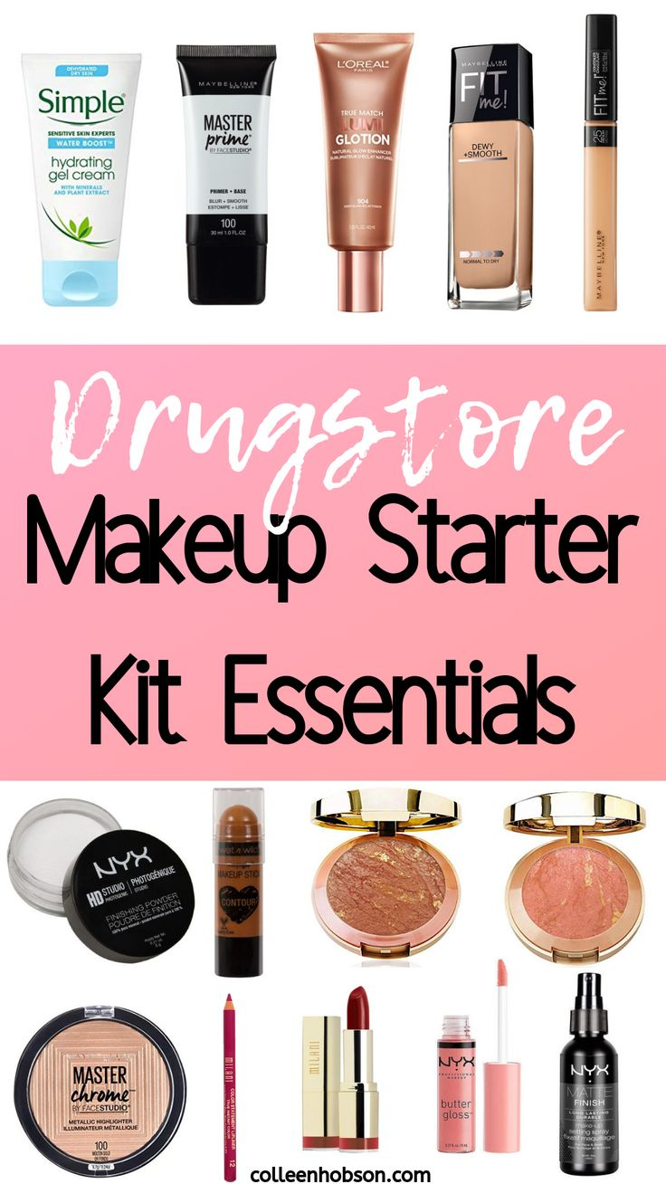 Drugstore Makeup Starter Kit For Beginners makeuplooks