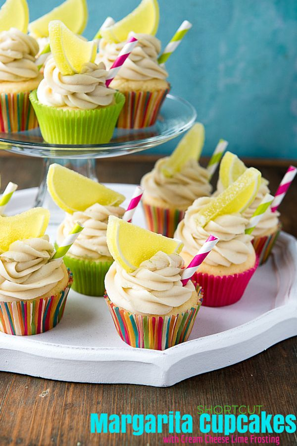 A simple trick will turn an ordinary vanilla cake mix into Margarita Cupcakes with Cream Cheese Lime Frosting. Perfect for parties or Cinco de Mayo! Regular or gluten-free mixes work.