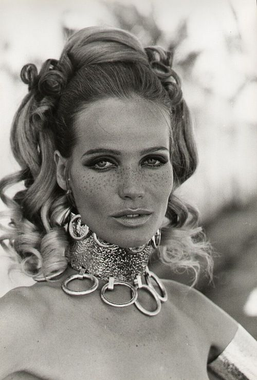 Veruschka, glamazon, 1960s/70s fashion icon, vintage fashion & beauty