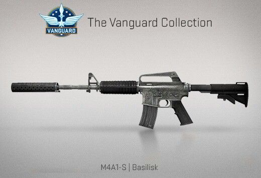 Counter-Strike Global Offensive: The Vanguard Collection: M4A1-S Basilisk