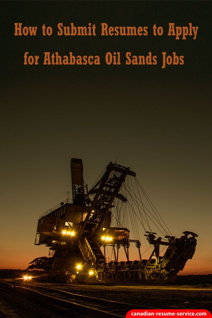 How to Submit Resumes to Apply for Athabasca Oil S…