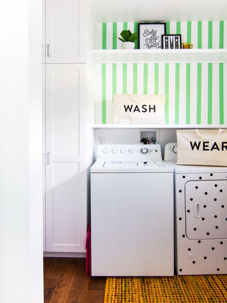 Blogger Sarah Hearts Gave Her Laundry Room A Big Update With Easy And  Affordable DIY Projects Part 79