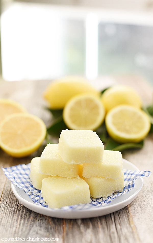Exfoliate dry skin and replenish moisture with this easy lemon sugar scrub cubes recipe. These make a great handmade Christmas gift!