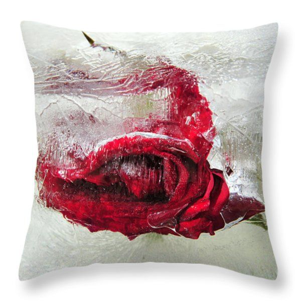 Throw Pillow featuring the photograph Victim Of Anti-aging by Randi Grace Nilsberg