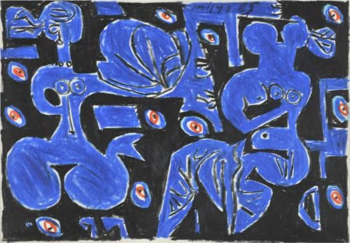 10 colored drawings for the poems of George Seferis - Yiannis Moralis