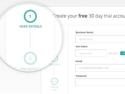 Breadcrumb Trails and Process Steps for Website User Interfaces #breadcrumb #webdesign: