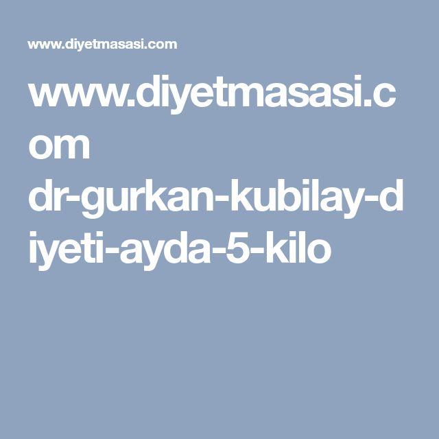 www.diyetmasasi.com dr-gurkan-kubilay-diyeti-ayda-5-kilo