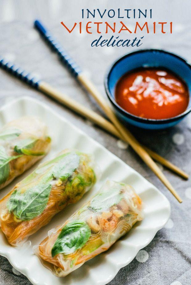 Involtini vietnamiti delicati // Vietnamese delicate rolls