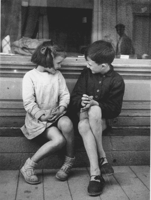 Brassaï: André et Paulette (1949)
