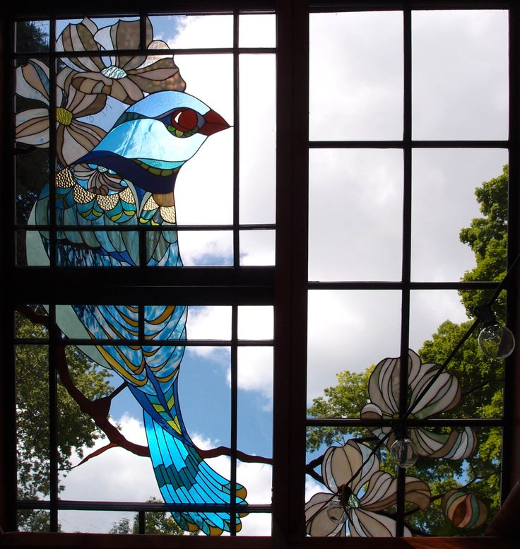 Cabin Glass Window : Best stained glass in old window frames images on