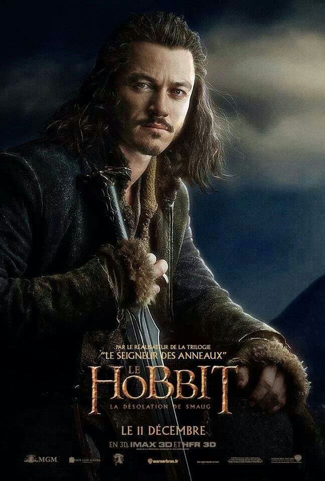 The Hobbit ~ Luke Evan as Bard the Bowman