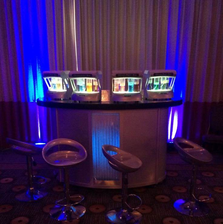 Oxygen Party Bar at Bella's 13th birthday party in Sherman Oaks CA