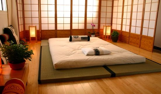 Best night sleep ever futon on tatami mat japan all for Futon e tatami