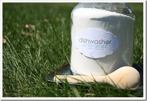 Make Your Own Dishwasher Soap {free printable}