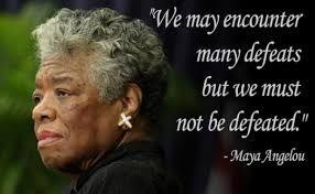 The greatest female poet Maya Angelou