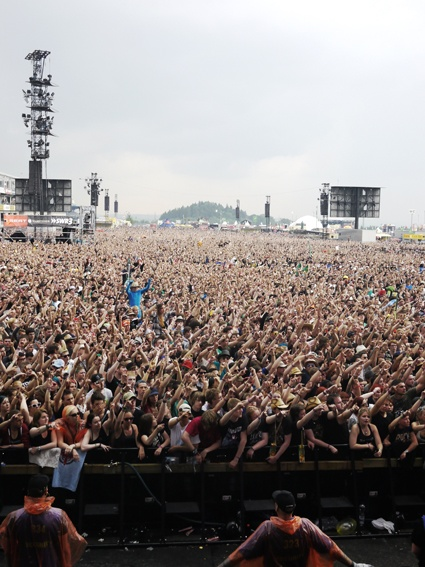 ROCK AM RING - got to do a music festival abroad!