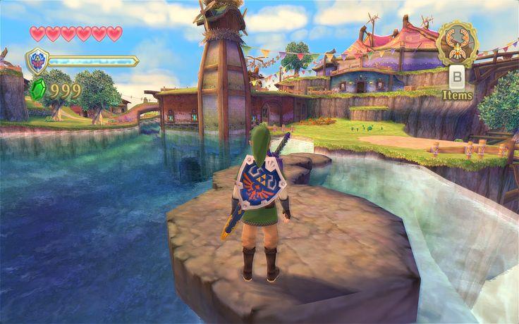 The Legend of Zelda: Skyward Sword (needs Wii Motion Plus Controller)