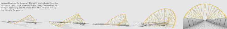 Gallery of Elliptical Bridge Proposal / Penda - 8