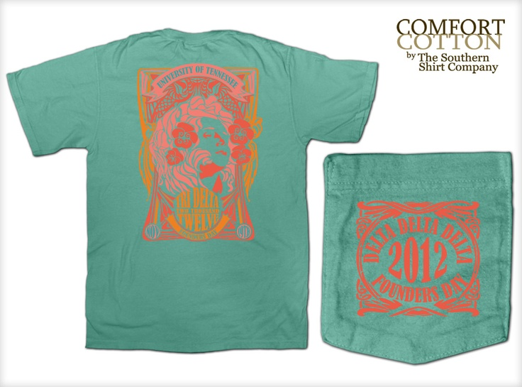 Tri Delta Shirts by The Southern Shirt Co. ΔΔΔ