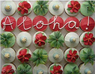 Aloha Cupcakes!