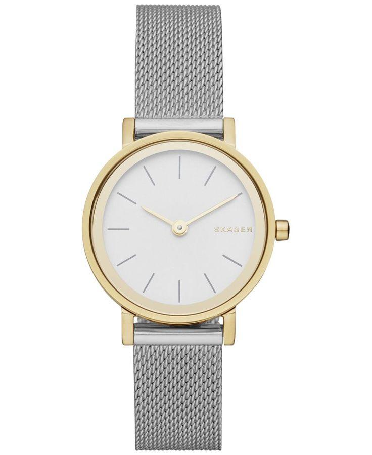 Skagen Women's Hald Stainless Steel Mesh Bracelet Watch 26mm SKW2445