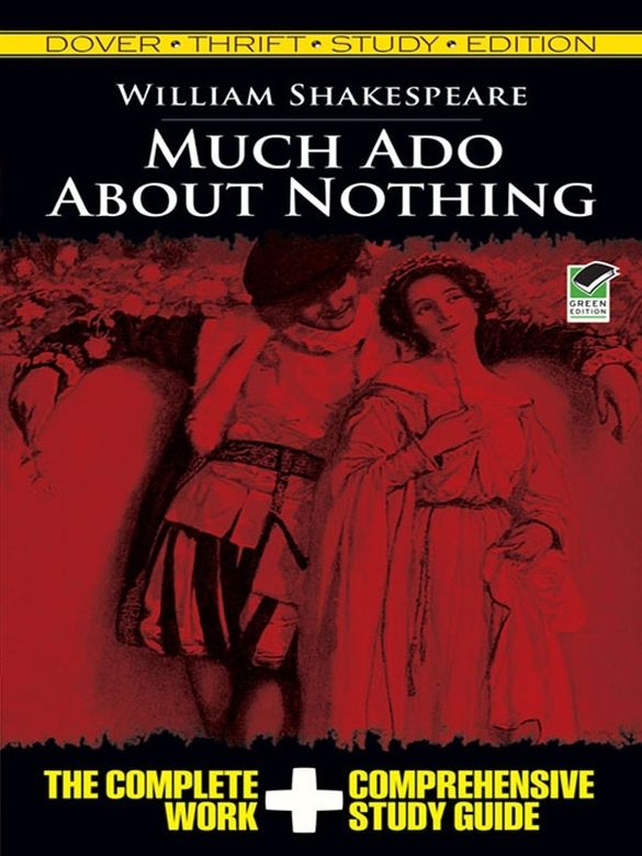 an analysis of the topic of much ado about nothing a play by william shakespeare Themes deceit the play relies mainly on deceit for its effectiveness  in much  ado about nothing, don john is a case in point.