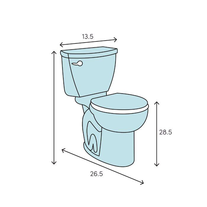 Ivy Dual Flush Elongated One Piece Toilet Seat Toilet Dual Flush Toilet Wood Bridge