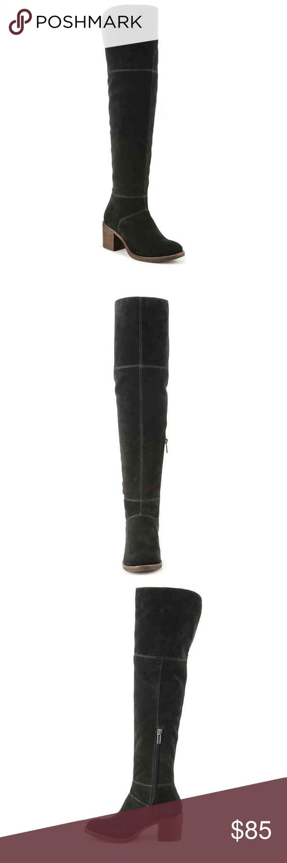SALE! Lucky Brand Ramsden Over the Knee Boot SALE! Lucky Brand Ramsden Over the Knee Boot  ⭐️ Size 8.5 ⭐️ WORN ONCE for only a few hours! Basically new! ⭐️ Looks great with dresses or jeans! ⭐️ 20% off bundles of 3 or more items! ⭐️ All reasonable offers considered Lucky Brand Shoes Over the Knee Boots