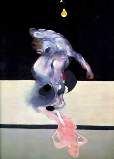 Triptych (detail) 1974 by Francis Bacon