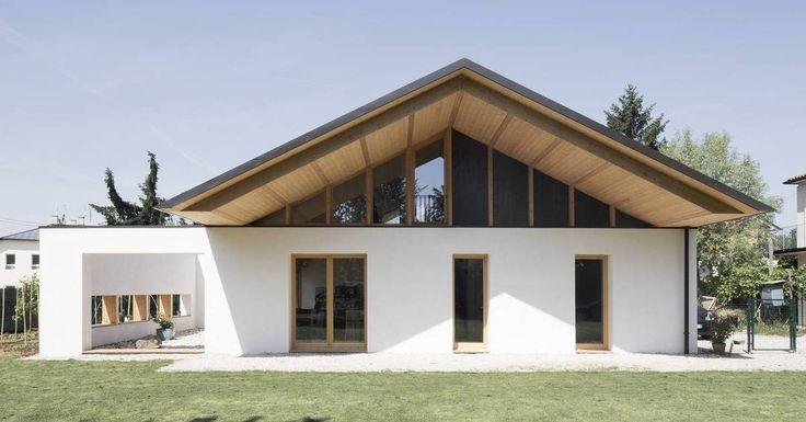 Итальянский дом с биоклиматической и изолированной архитектурой в соломе | Построить зеленый