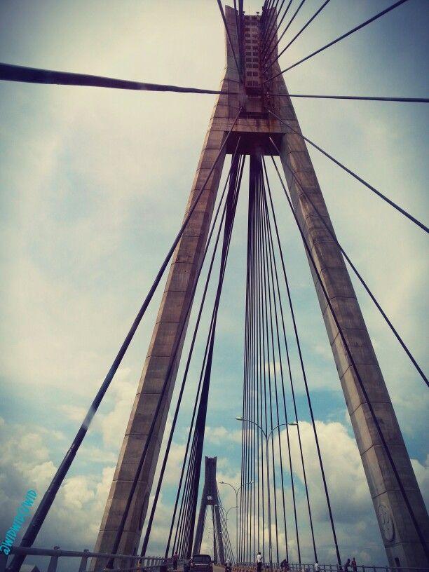 What a beautifull #Bridge... #Batam #Indonesia
