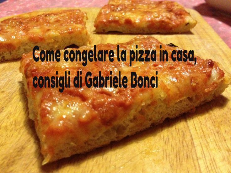 come congelare la pizza in casa e fare le pieghe sulla pasta
