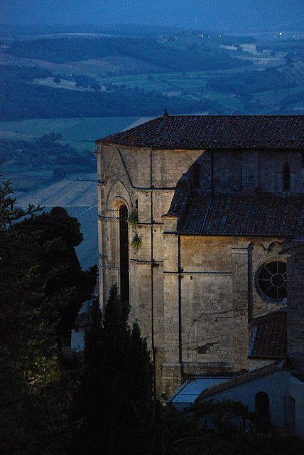 ysvoice:    | ♕ | Duomo at dusk - Massa Marittima, Tuscany | by © Bruno Brunelli