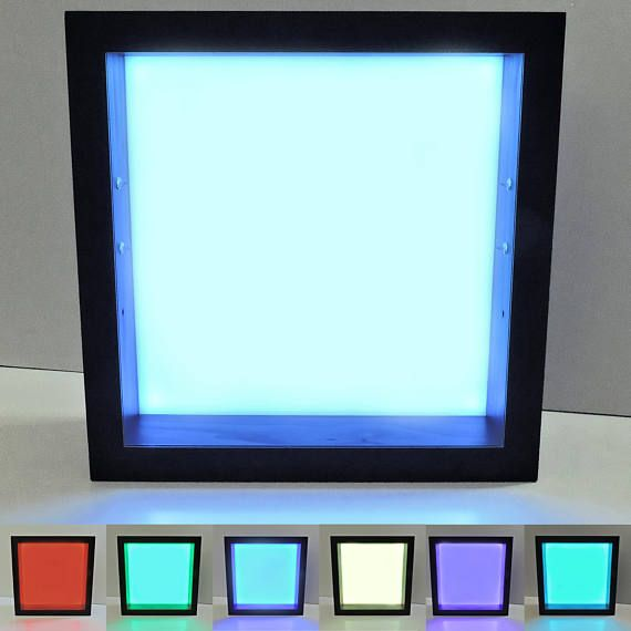 Shadow Box Display Case Shadow Box Light Up Shadow Box
