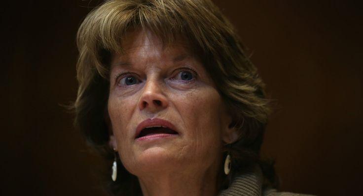 Sen. Lisa Murkowski is pictured.