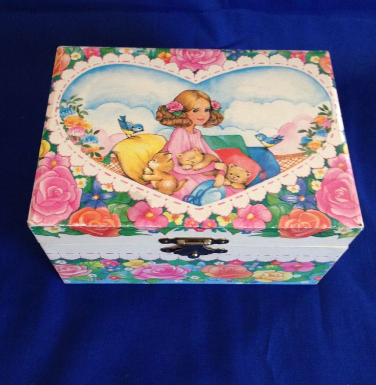 288 best Childs Jewelry Box images on Pinterest Jewel box