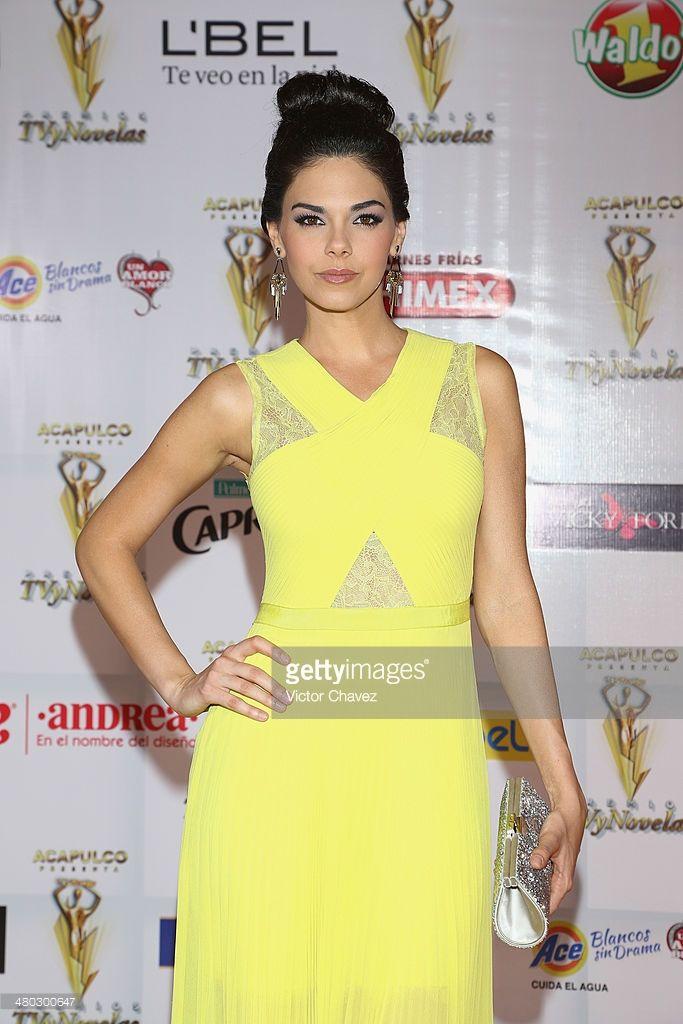 Livia Brito attends the Premios Tv y Novelas 2014 at Televisa Santa Fe on March 23, 2014 in Mexico City, Mexico.