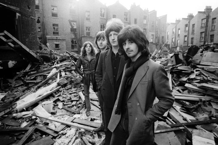 Badfinger - Apple Records ~ Mike Gibbins, Joey Molland, Pete Ham, Tom Evans 1969 ~