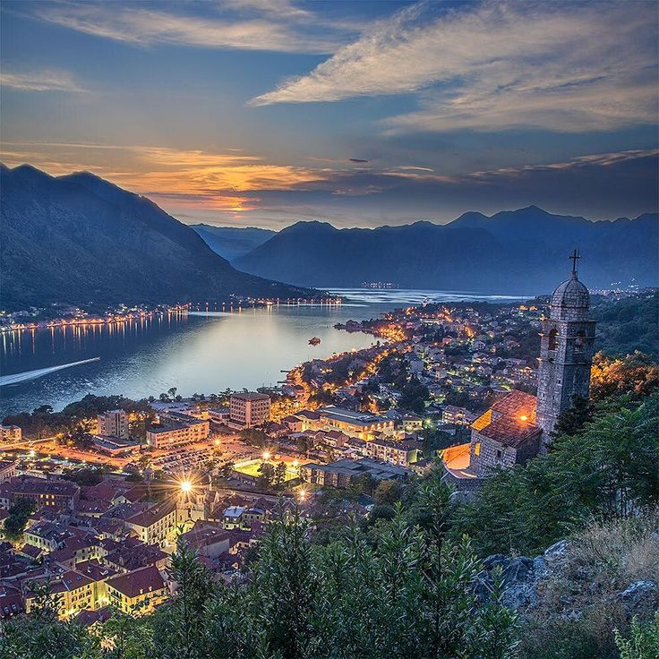 Kotor Montenegro Hiking to watch the sunrise is supposed to be really beautiful…
