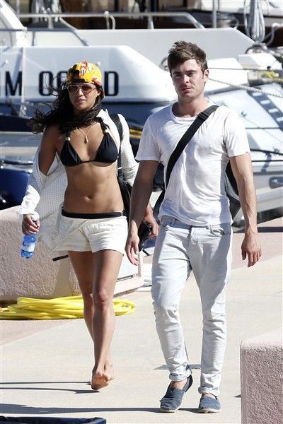 Couple Alert? Zac Efron Caught Kissing Michelle Rodriguez