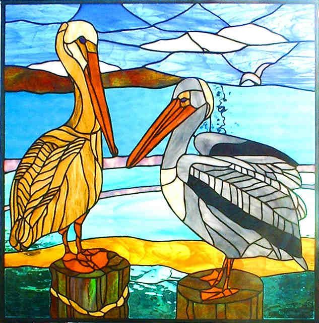 Pelicans by Sally Reingold