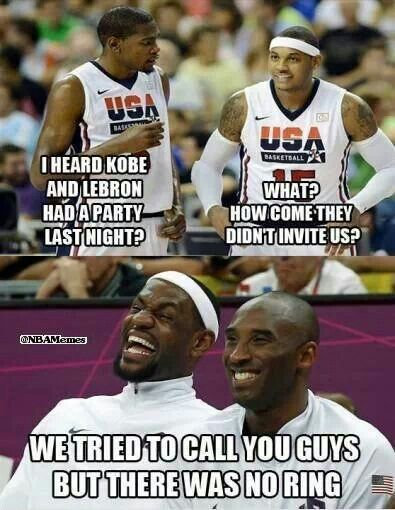 Lol poor Durant and Melo