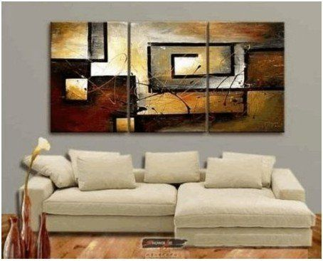 Abstract Modern Art 100% Hand Painted Oil Painting on Canvas Wall Art Deco Home Decoration (Unstretch No Frame) $67.99 #topseller