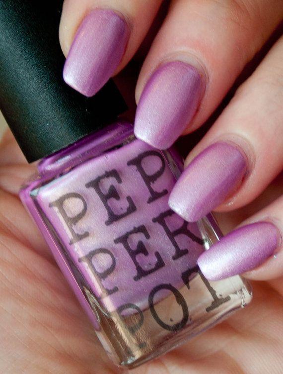 Pink Nail Polish Indie 5 Free Nail Polish Bath by PepperPotPolish